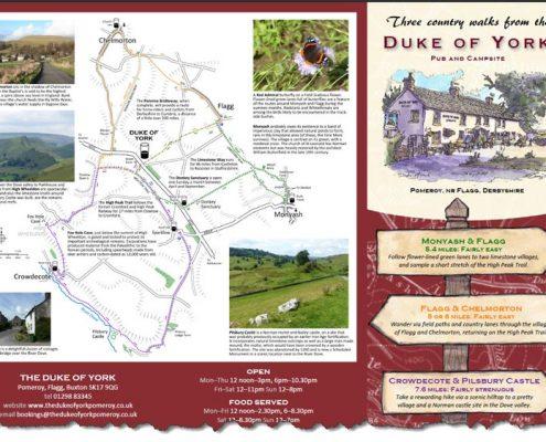 3 great walks from the Duke of York, Pomeroy