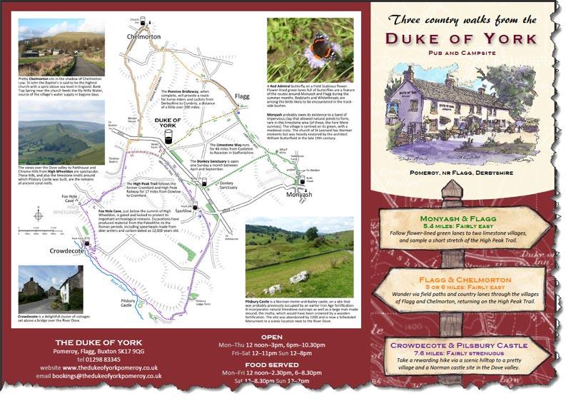 3 great walks from the Duke of York, Pomeroy
