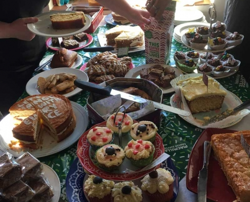 MacMillan Cakes at Duke of York