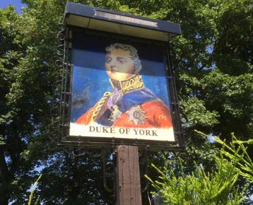 duke of york sign