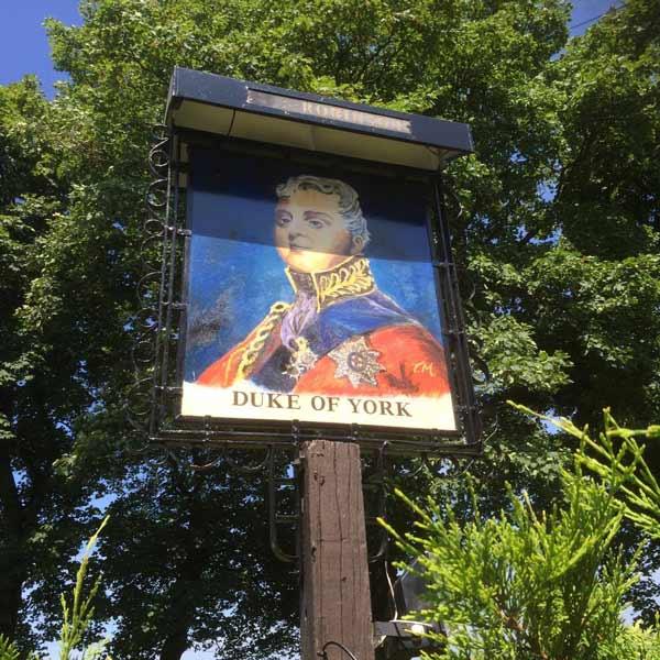 duke of york sign