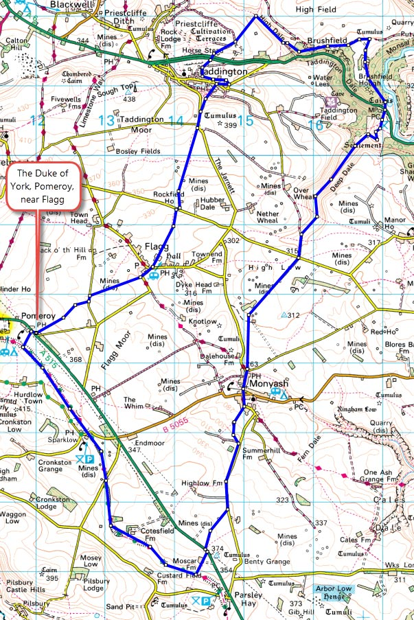 Duke of York walk 22km